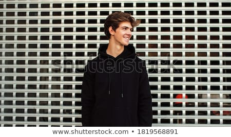 Handsome young guy Stock photo © elwynn
