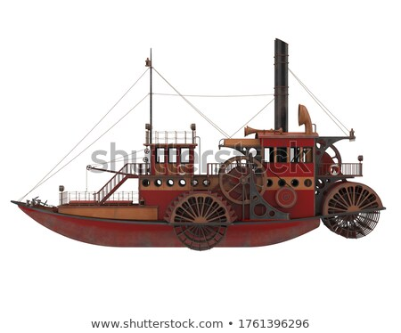 steamer ship in the port Stock photo © master1305