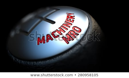 機械 ギア レバー 制御 黒 ストックフォト © tashatuvango