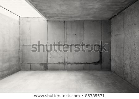 vacío · garaje · almacén · cerrado · puerta · casa - foto stock © stryjek