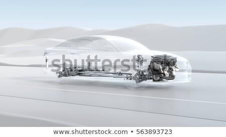 Abstract car engine illustration Stock photo © Kirill_M