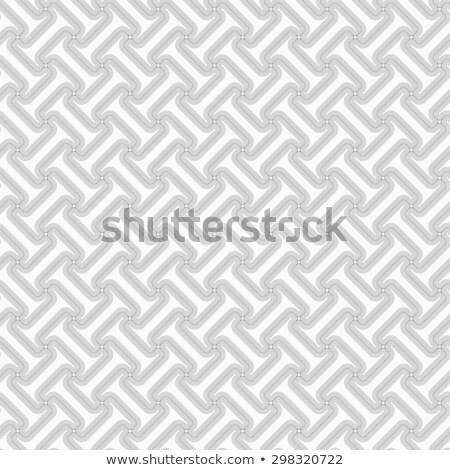 Slim gray striped diagonal T shapes Stock photo © Zebra-Finch