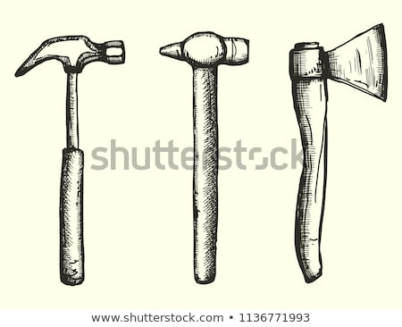 ax and hammer Stock photo © ozaiachin