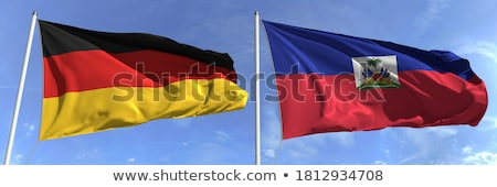 germany and haiti flags stock photo © istanbul2009