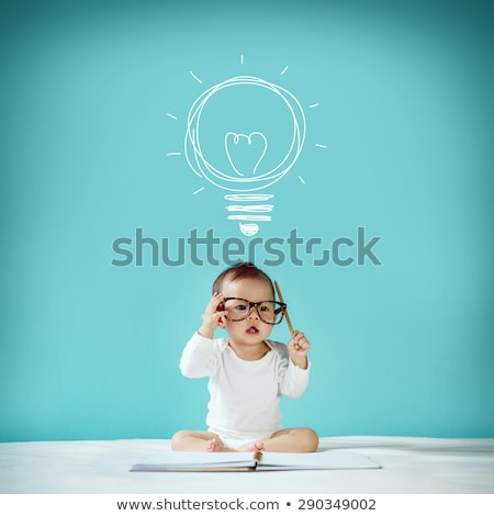 clever baby Stock photo © Paha_L