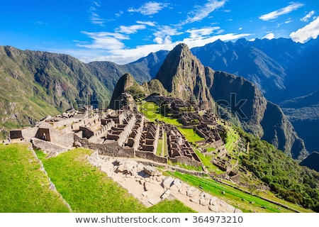 machu picchu near Cuzco, Peru Stock photo © alexmillos