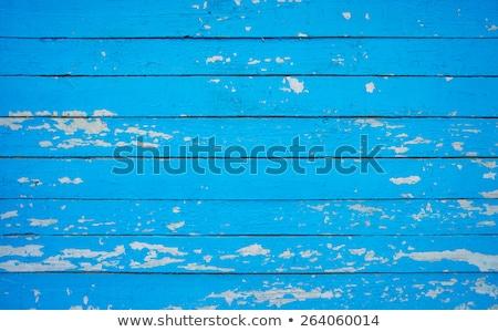 Viharvert barna festett fa deszka repedt textúra Stock fotó © homydesign
