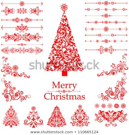 Christmas decoration.embellishment cristmas Stock photo © fanfo