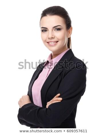 Mujer de negocios blanco fresa rubio negocios oficina Foto stock © dnsphotography