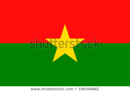 Flag of Burkina Faso Stock photo © Lom