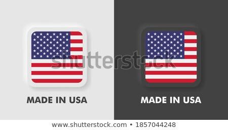 Certifié magasin icône gris bouton design Photo stock © WaD