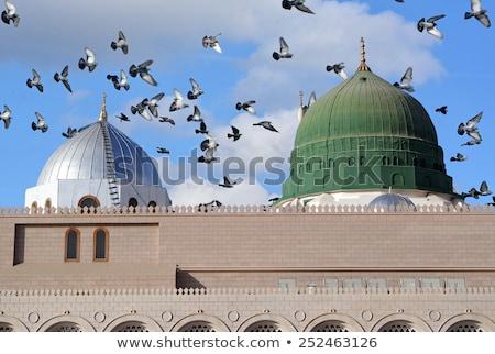 Profeet heilig moskee Saoedi-Arabië gebouw menigte Stockfoto © zurijeta