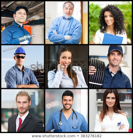 pessoas · diferente · pessoas · brancas · branco · ilustração - foto stock © bluering
