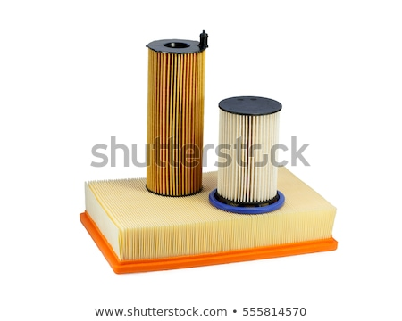 Air and oil filter. Isolate Stock photo © RuslanOmega
