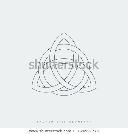 sacred lineart symbol Stock photo © SArts