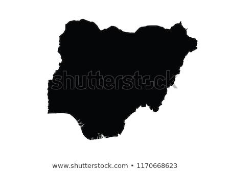 Nigeria · kraju · Pokaż · Afryki · biały - zdjęcia stock © carenas1