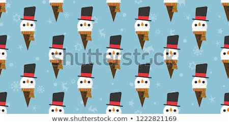 vector · ingesteld · verschillend · winter · team · geschenk - stockfoto © loopall