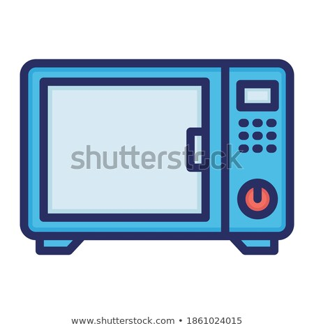 Canned food and electronic kitchen devices Stock photo © bluering