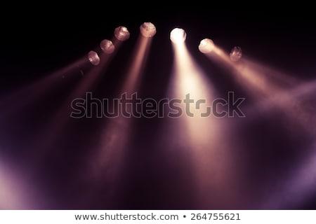 cantando · etapa · jóvenes · luces · música - foto stock © wavebreak_media