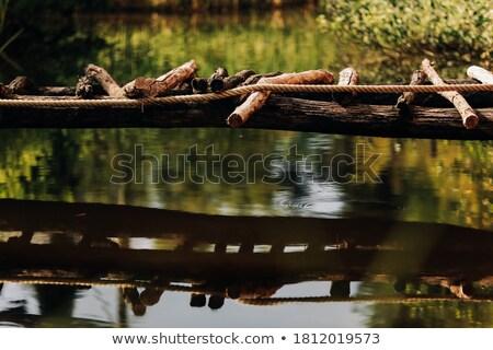 Wooden trail across countryside Stock photo © wavebreak_media