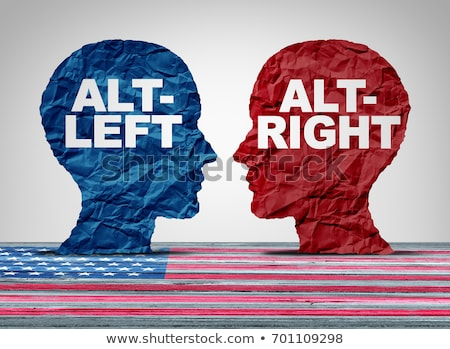 Alt-Right And Altleft Stock photo © Lightsource