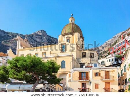 Santa Maria Assunta Church in Positano Stock photo © benkrut