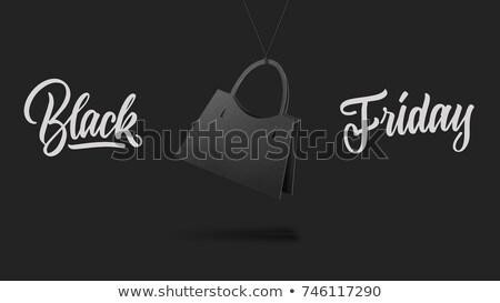 venda · cartão · estilo · bolsa · etiqueta · forma - foto stock © artjazz
