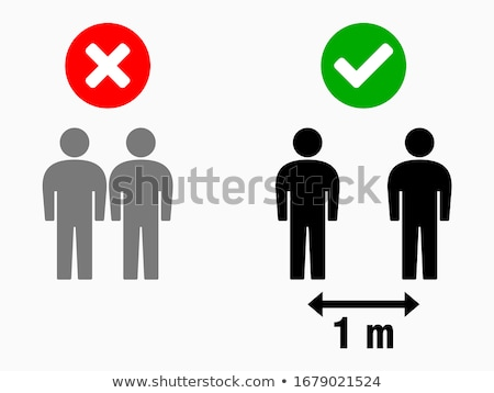 silhouette of maintaining male Stock photo © Olena