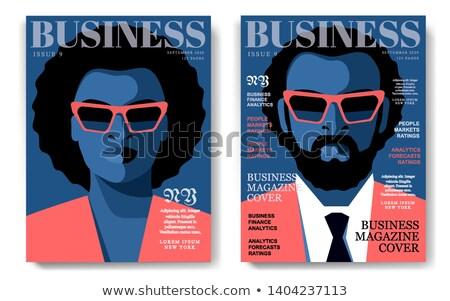 африканских · бизнесмен · реклама · плакат · место · текста - Сток-фото © studiostoks