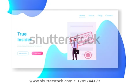 File Card with Compromising. Stock photo © tashatuvango