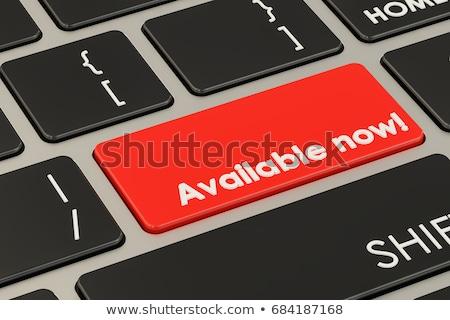 Internet kereskedés felirat piros billentyűzet numerikus billentyűzet Stock fotó © tashatuvango
