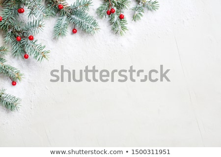 Rood christmas witte boom abstract Stockfoto © x7vector