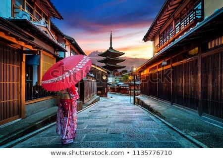 Pagoda of Yasaka, Gion, kyoto, Japan Stock photo © daboost