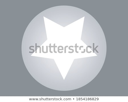 clean light and dark star rating symbol Stock photo © SArts