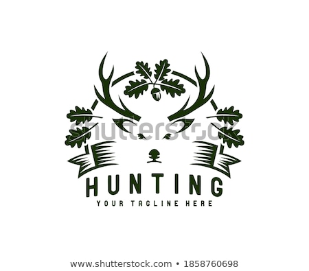 Hunting and Shooting Sports Vector Illustration Stock photo © jeff_hobrath