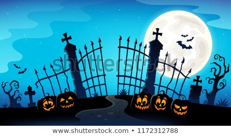 Halloween bat theme image 8 Stock photo © clairev