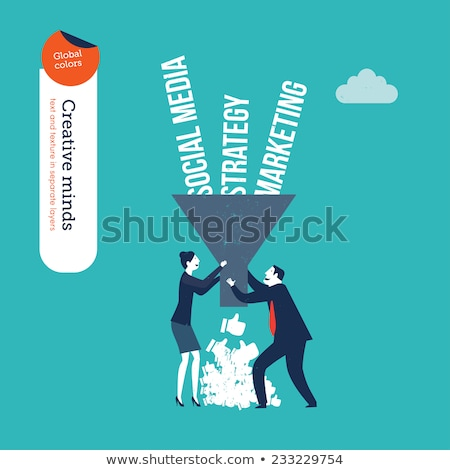 ideas strategy success funnel concept stock photo © ivelin
