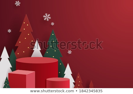 christmas sale banner with image space stock photo © sarts