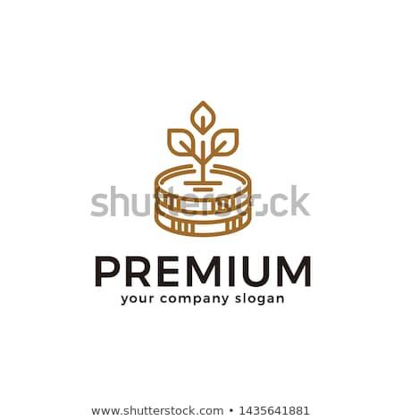 logo · madeni · para · pazar · amblem · ikon · sikke - stok fotoğraf © tashatuvango