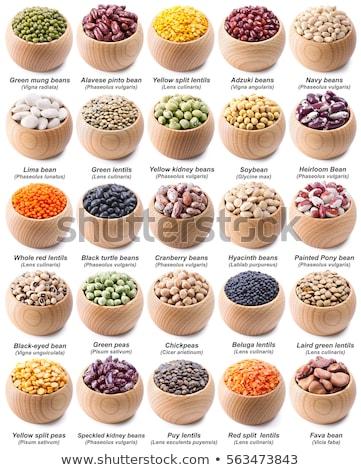 Foto stock: Bolos · colección · establecer · frijoles
