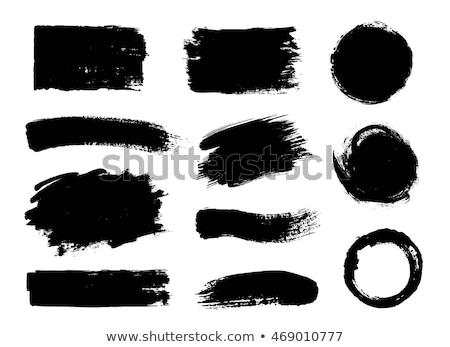Abstract Grunge Graffiti Frame stock photo © swatchandsoda