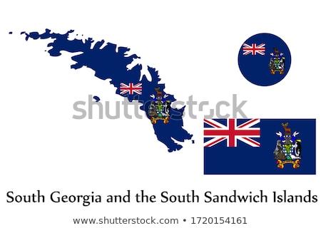Géorgie sandwich pavillon sécher Photo stock © grafvision