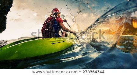Extrém víz sportok ikonok eps 10 Stock fotó © netkov1
