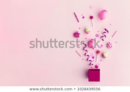соты · вечеринка · красочный · розовый · весело - Сток-фото © barbaraneveu