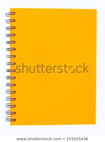 Notebook to Write Memos and Personal Information Stock photo © robuart