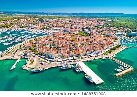 Historique ville région Croatie Photo stock © xbrchx