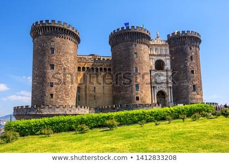 castello · Italia · view · medievale · sole · Napoli - foto d'archivio © alex9500