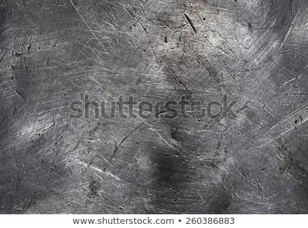 Rostigen Eisen Textur abstrakten Design Stock foto © OleksandrO