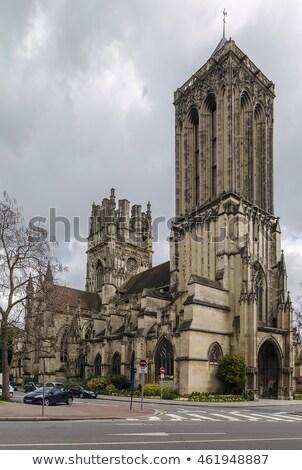 st johns church caen france stock photo © borisb17