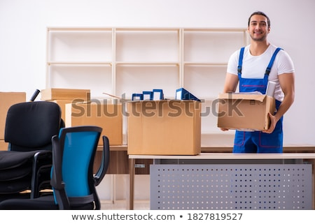 Professional Male Movers Doing Home Relocation Stock photo © AndreyPopov